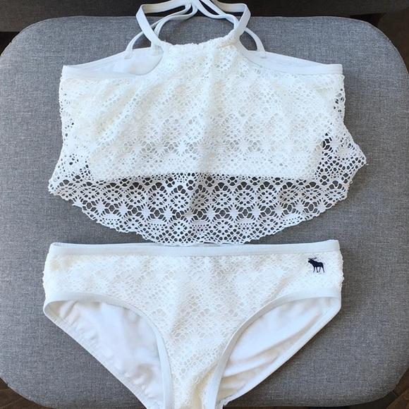 9e92fb6f89455 abercrombie kids Swim | Big Girls Abercrombie Bikini | Poshmark